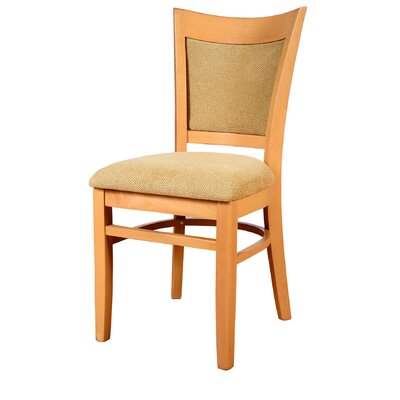 Iron Acton Side Chair Finish: Medium Oak