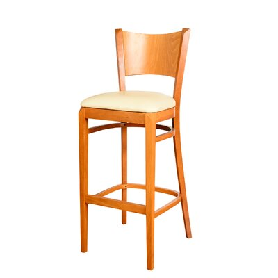 Triangle 30 Bar Stool Finish: Cherry