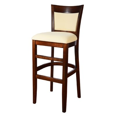 Sofia 30 Bar Stool Finish: Walnut