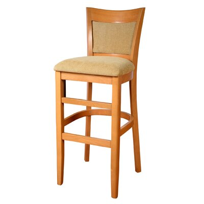 Iron Acton 30 Bar Stool Finish: Natural
