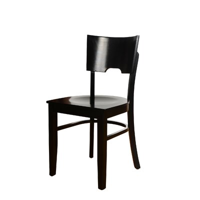 Cairo Side Chair (Set of 2) Finish: Black