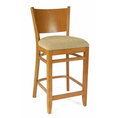 Irons 24 Bar Stool Finish: Cherry