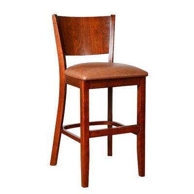 Irons 24 Bar Stool Finish: Medium Oak