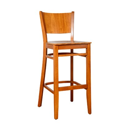Irons 30 Bar Stool Finish: Cherry