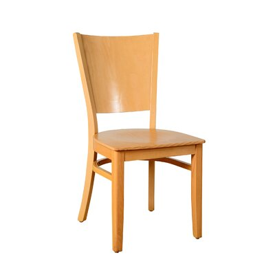 Irons Solid Wood Dining Chair Finish: Natural