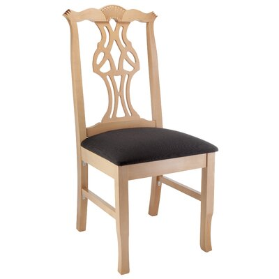Jaylon Solid Wood Dining Chair Color: Natural