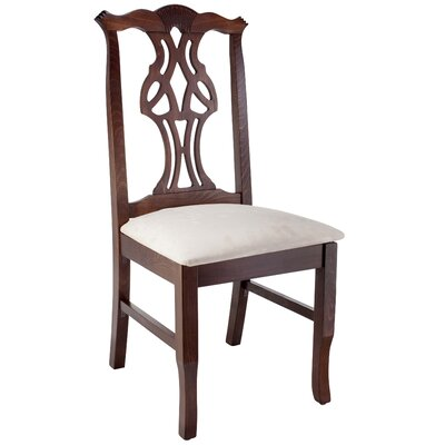 Chippendale Side Chair Finish: Walnut
