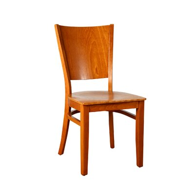 Winston Solid Wood Dining Chair Finish: Cherry