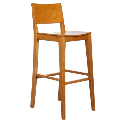 Basil 30 Bar Stool Finish: Cherry