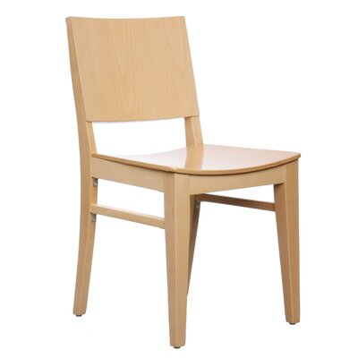 Basil Side Chair (Set of 2) Finish: Natural