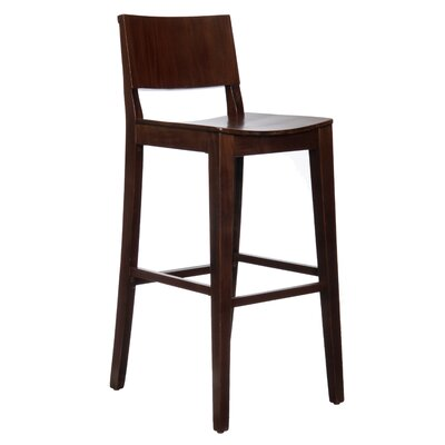 Basil 30 Bar Stool Finish: Walnut