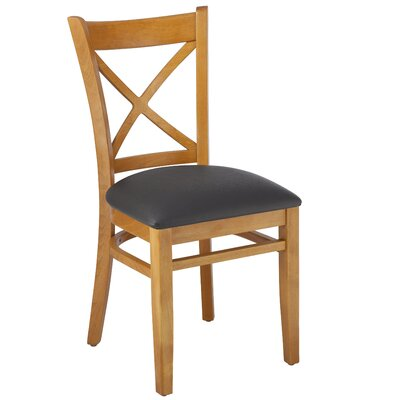 Gambrel Solid Wood Dining Chair Finish: Cherry