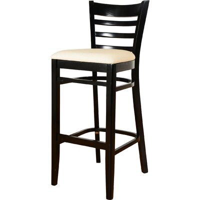 30 inch Bar Stool Finish: Black