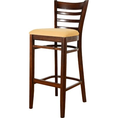 30 Bar Stool Finish: Walnut