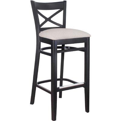 30 Bar Stool Frame Finish / Upholstery: Frame Color / Upholstery