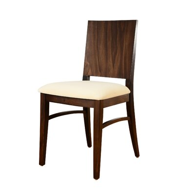 Italia Side Chair (Set of 2) Finish: Walnut