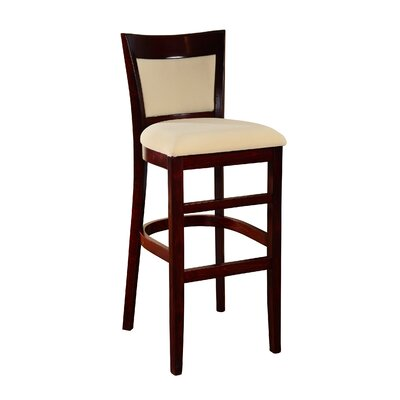 Iron Acton 30 Bar Stool Finish: Dark Mahogany
