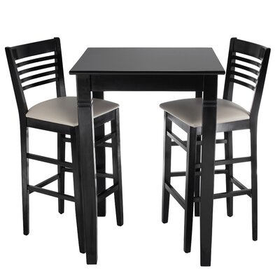 Venetion 3 piece Bar Set Color: Black