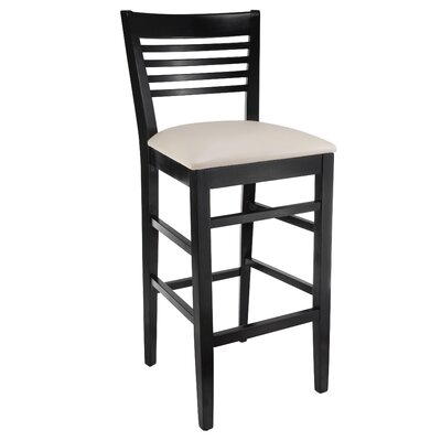 Venetion 30 Bar Stool Finish: Black