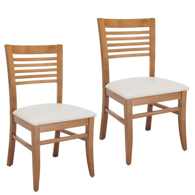 Venetion Side Chair (Set of 2) Finish: Cherry