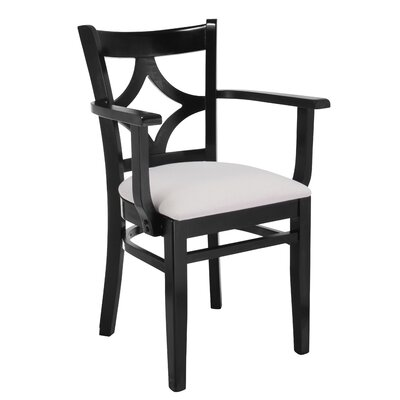 Rego Arm Chair Finish: Black