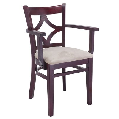 Rego Arm Chair Finish: Dark Mahogany