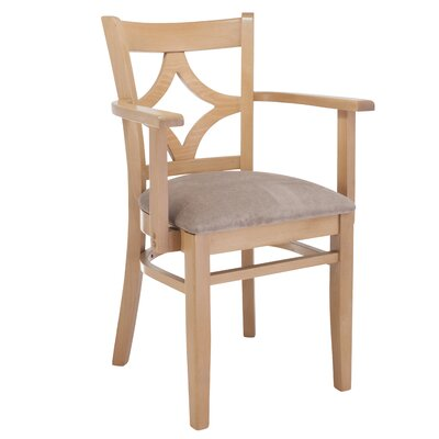 Rego Arm Chair Finish: Natural