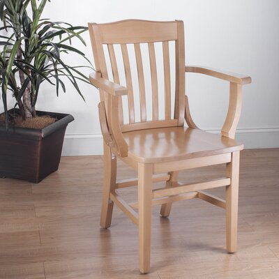 Schoolhouse Solid Wood Dining Chair Finish: Natural