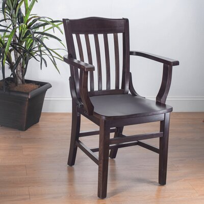 Kershaw Solid Wood Dining Chair Finish: Walnut