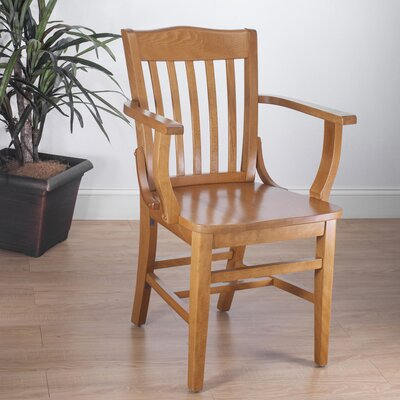 Schoolhouse Solid Wood Dining Chair Finish: Cherry