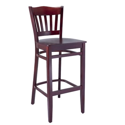 Hyatt 30 Bar Stool Finish: Dark Mahogany
