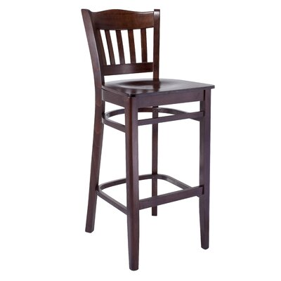 Darlington 30 Bar Stool Finish: Walnut