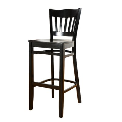 Darlington 30 Bar Stool Finish: Black