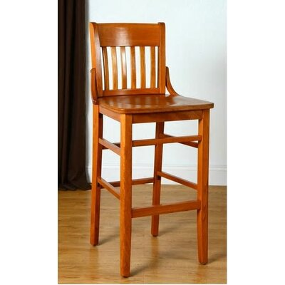 Library 47 Bar Stool Finish: Cherry