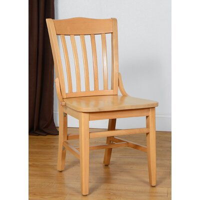 Schoolhouse Side Chair (Set of 2) Finish: Natural