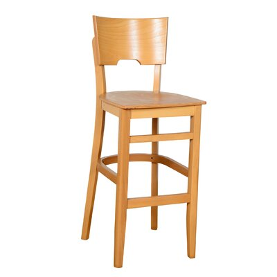 Featherston 30 Bar Stool Finish: Natural