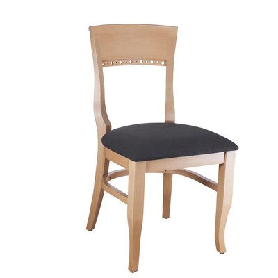 Tymon Solid Wood Dining Chair Color: Natural