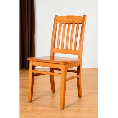 Claverton Down Solid Wood Side Chair Color: Cherry