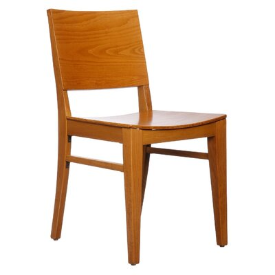 Entrekin Solid Wood Dining Chair Finish: Cherry