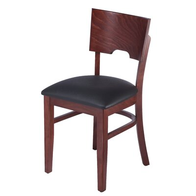 Cairo Side Chair Finish: Mahogany