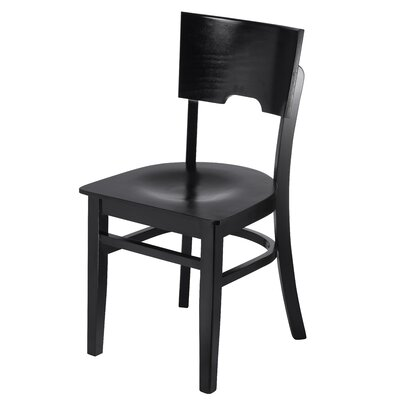 Cairo Side Chair Finish: Black