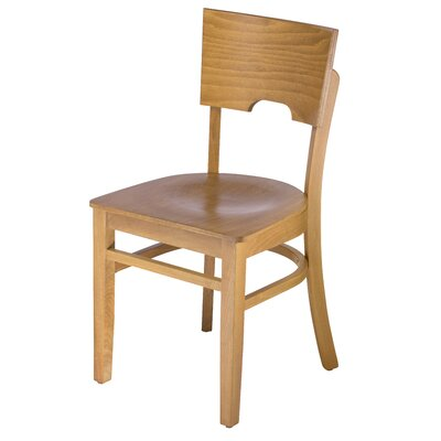 Cairo Side Chair Finish: Cherry