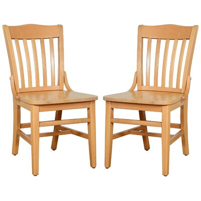 Kershaw Solid Wood Dining Chair Finish: Natural