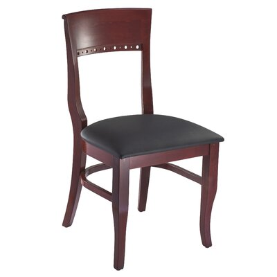 Tymon Side Chair Finish: Mahogany