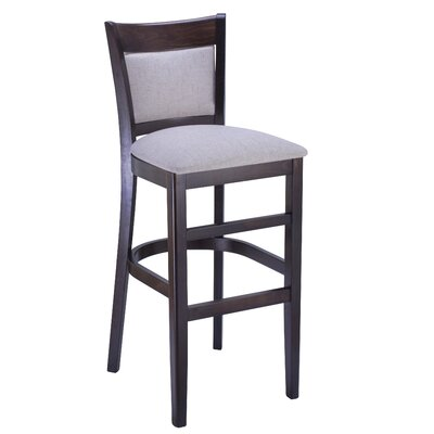 Iron Acton 30 Bar Stool Finish: Walnut