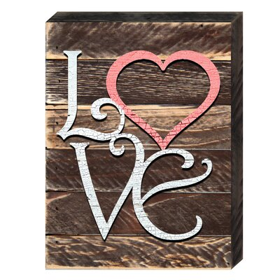 Love And Relations Love Heart Textual Art