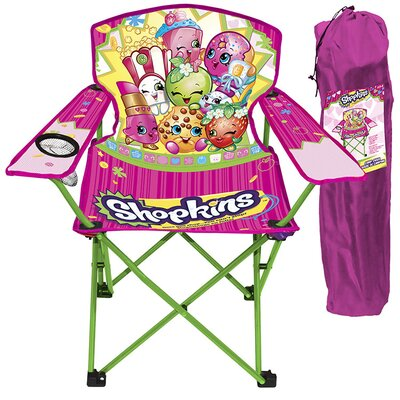 Shopkins 2 Piece Kids Camping Chair Set 70071