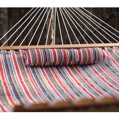 Cotton Tree Hammock Color: Sienna Stripe