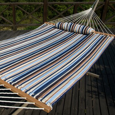 Cotton Tree Hammock Color: Seaside Stripe