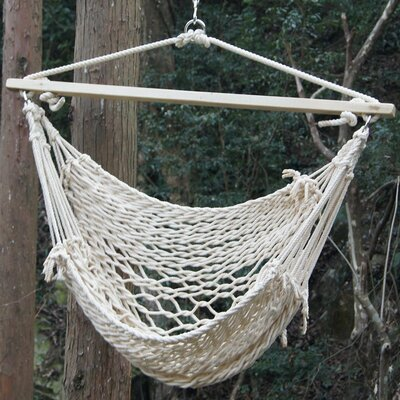 Deluxe Cotton Rope Chair Hammock